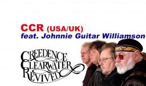 CREEDENCE CLEARWATER REVIDED - feat. Johnnie Guitar Williamson @ Stadthalle Hagen   Hagen   Nordrhein-Westfalen   Deutschland